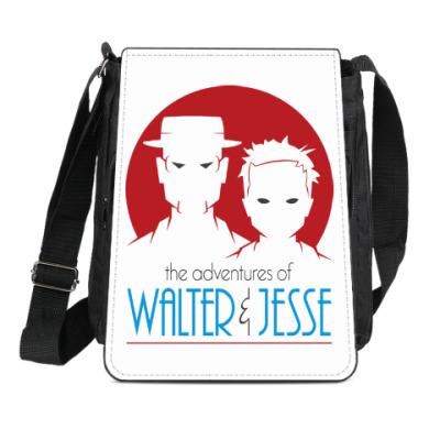 Сумка-планшет Уолтер и Джесси