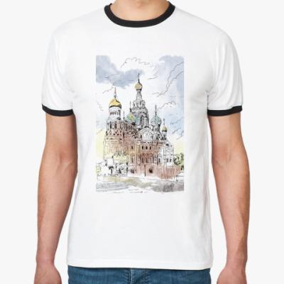 Футболка Ringer-T Собор Спас-на-Крови