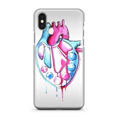 Чехол для iPhone X Art in my heart