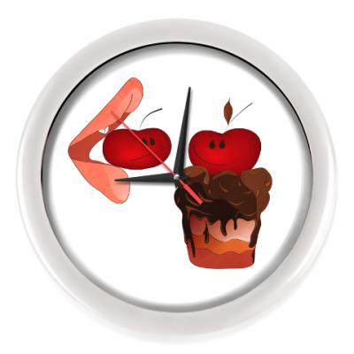 Настенные часы Cherry&Cake