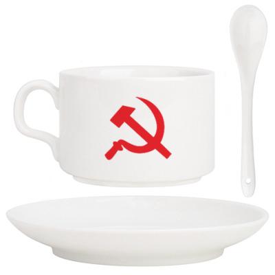 Кофейный набор Серп и молот - СССР