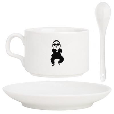 Кофейный набор В стиле гангнам (gangnam)