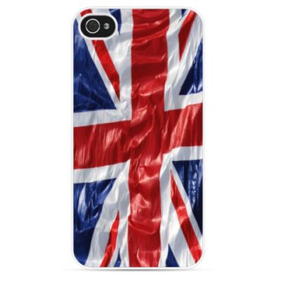Чехол для iPhone Флаг Британии