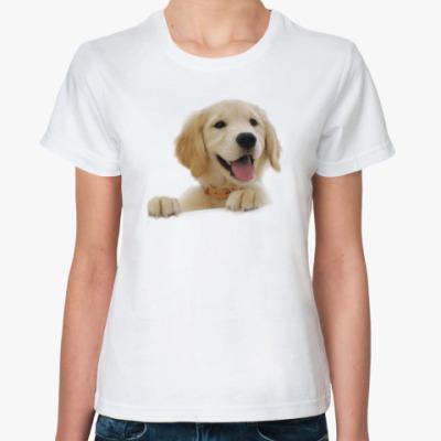 Классическая футболка Песик