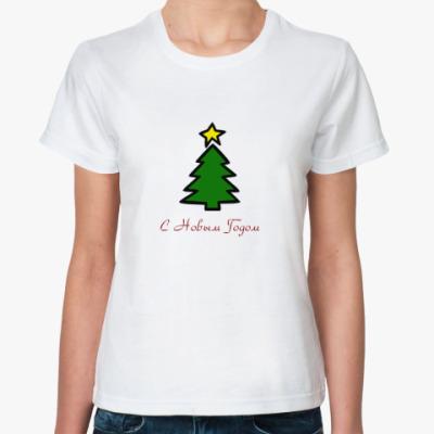 Классическая футболка С новым годом