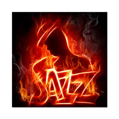 Наклейка (стикер) Jazz