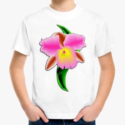 Детская футболка Орхидея