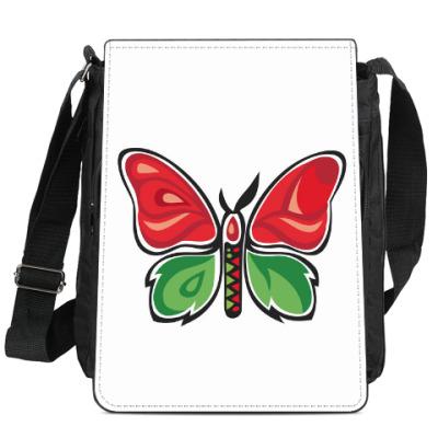Сумка-планшет Бабочка-Метаморфоза