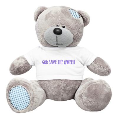 Плюшевый мишка Тедди God Save The Qween