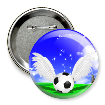 Значок 75мм Волшебство футбола