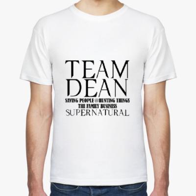 Футболка Team Dean