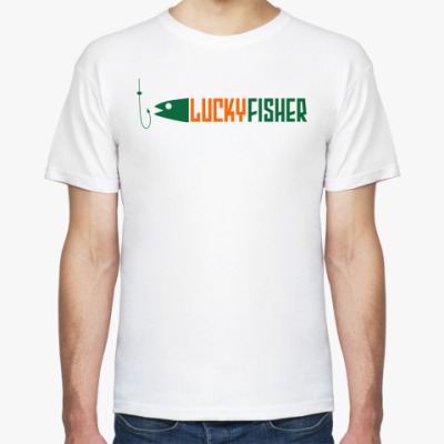 Футболка lucky fisher