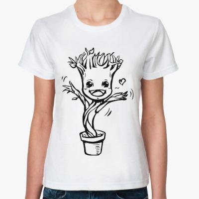 Классическая футболка Грут (Стражи Галактики)