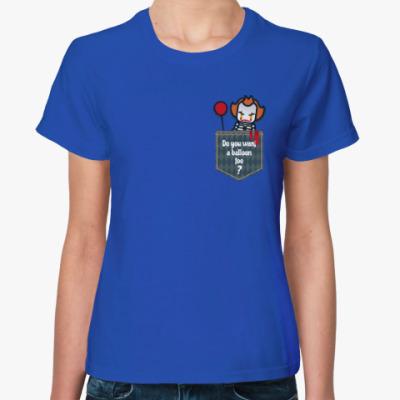 Женская футболка Пеннивайз