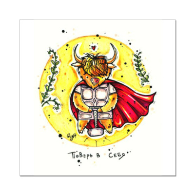 Наклейка (стикер) Тор