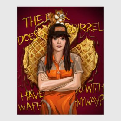 Постер Mandy Milkovich Shameless