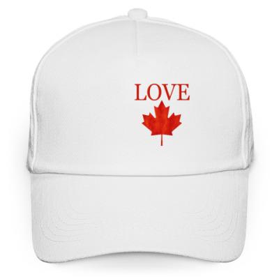 Кепка бейсболка Love Canada