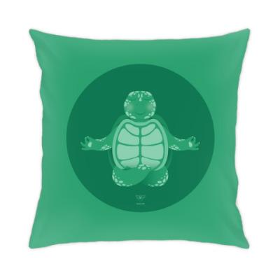 Подушка Animal Zen: T is for Turtle