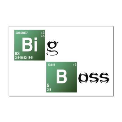 Наклейка (стикер) Big Boss