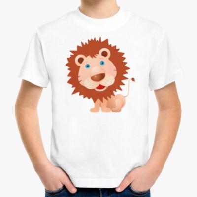 Детская футболка Львенок