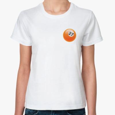 Классическая футболка   Шар 27