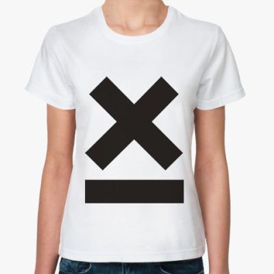 Классическая футболка X