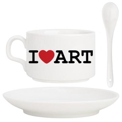 Кофейный набор I Love Art