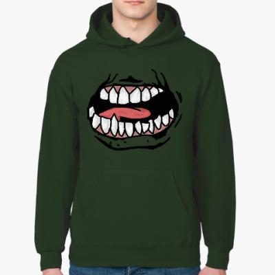 Толстовка худи Зубастый рот