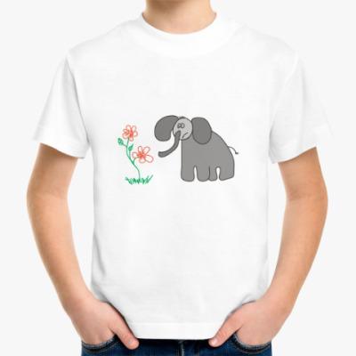 Детская футболка Слон