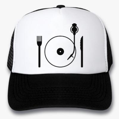 Кепка-тракер Eat music