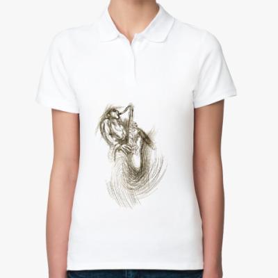 Женская рубашка поло Джазмен