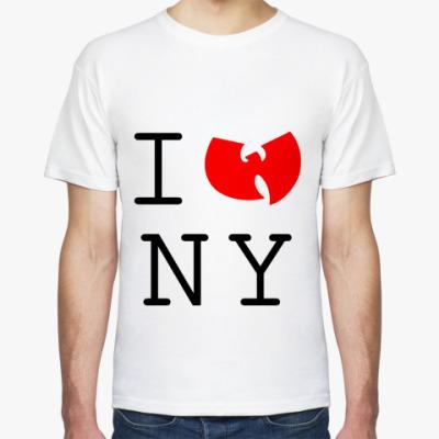 Футболка  I wu NY