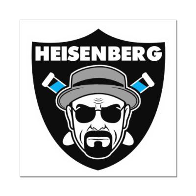 Наклейка (стикер) Heisenberg Raiders