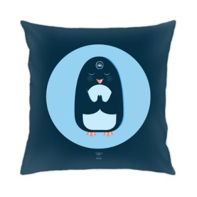 Подушка Animal Zen: P is for Penguin