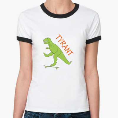 Женская футболка Ringer-T TYRANT