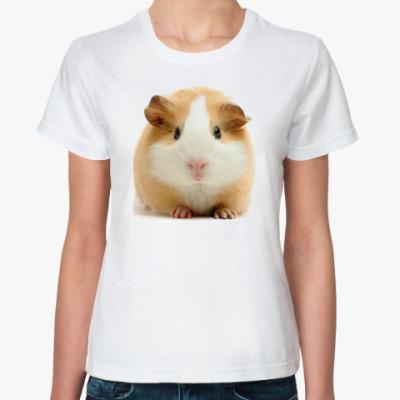Классическая футболка Морская свинка