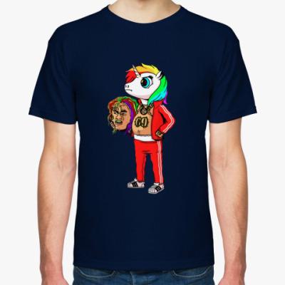 Футболка  69 rainbow