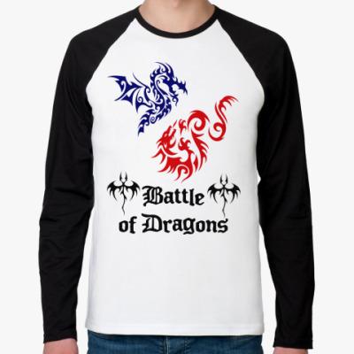 Футболка реглан с длинным рукавом Battle Dragons