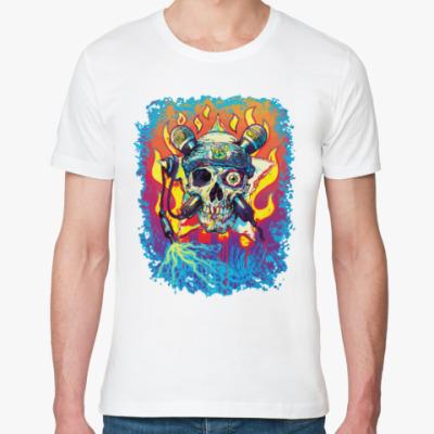 Футболка из органик-хлопка Music Skull
