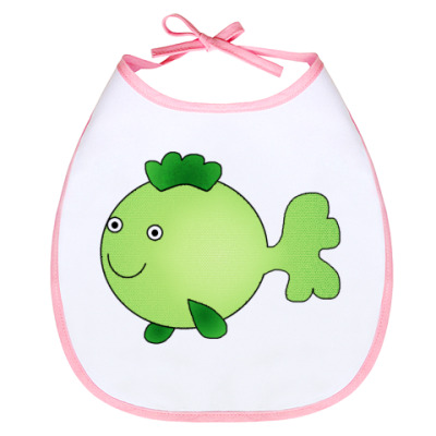 Слюнявчик Зеленая рыбка