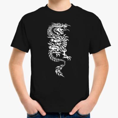Детская футболка Японский дракон