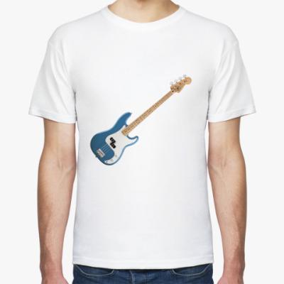 Футболка Fender precision bass
