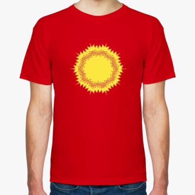 Футболка зигзагообразное солнце