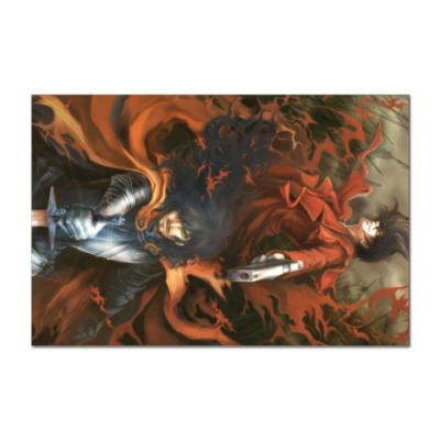 Наклейка (стикер) Hellsing