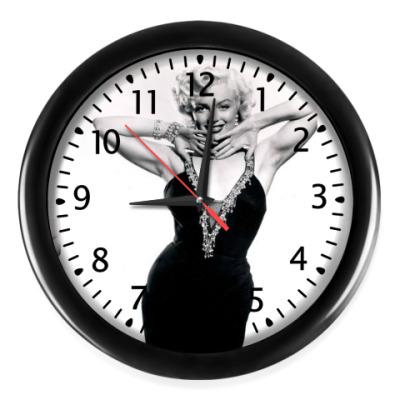 Настенные часы Мерилин Монро,актриса