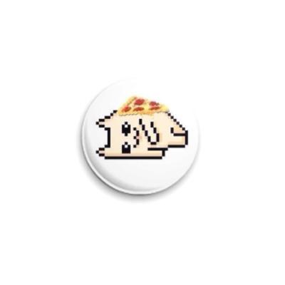 Значок 25мм Pizza Cat