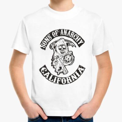 Детская футболка Сыны Анархии - Калифорния