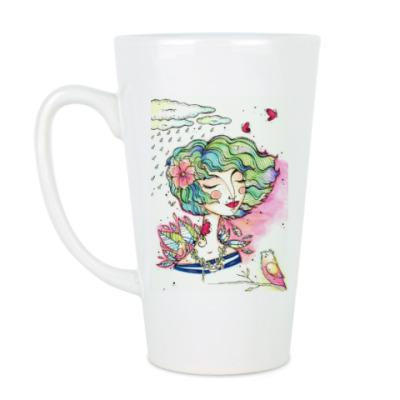 Чашка Латте Весна