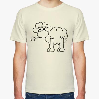 Футболка Овца с клевером