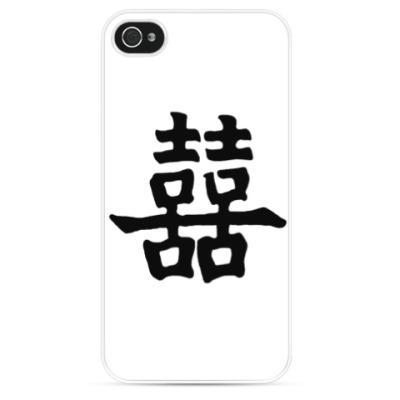 Чехол для iPhone двойное счастье